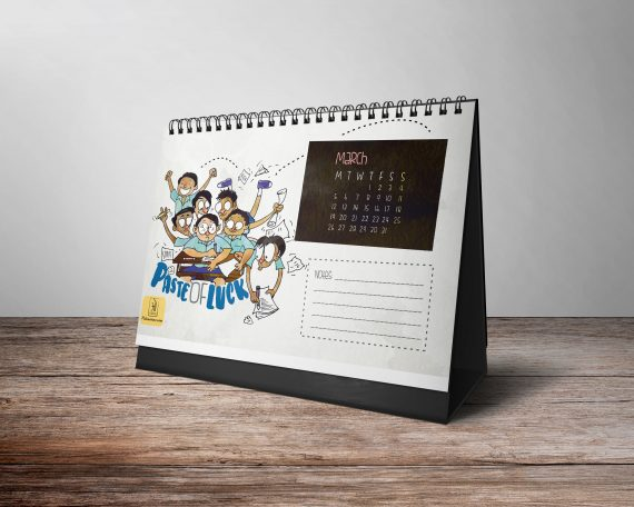 Doodle Calendar 2018 Month March