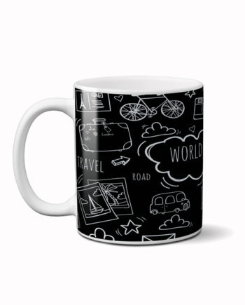 World travel coffee mug by adimanav.com