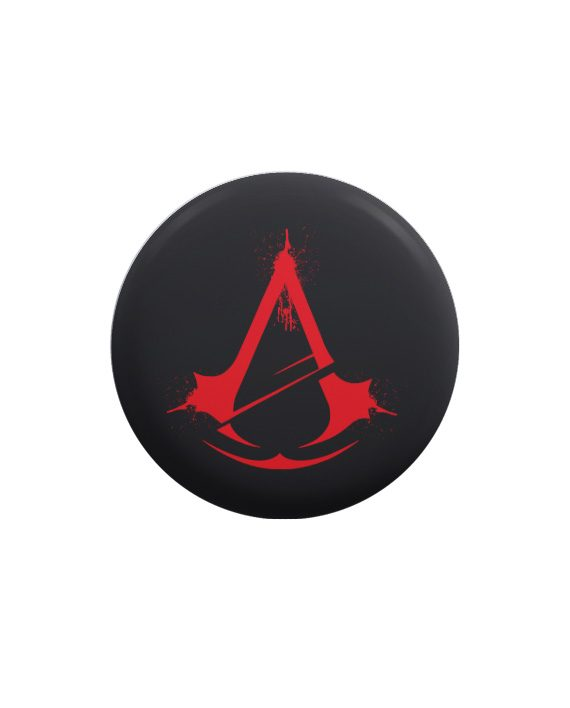 Assassin Creed pin plus magnet badge