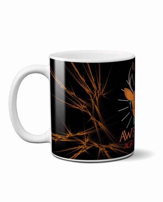 I am awesome coffee mug by adimanav.com
