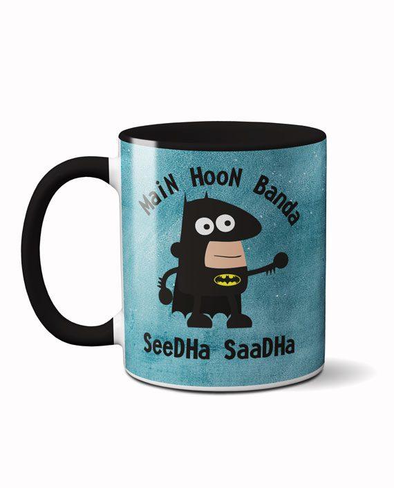 Main hoon banda seedha saadha coffee mug by adimanav.com