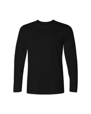 plain black full sleeve t-shirt by adimanav.com for men and women