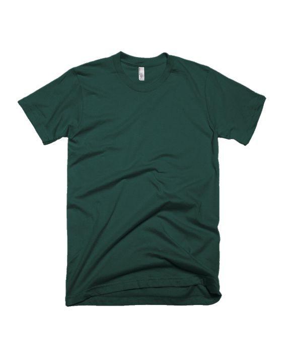 plain bottle green half sleeve t-shirt by adimanav.com for men and women
