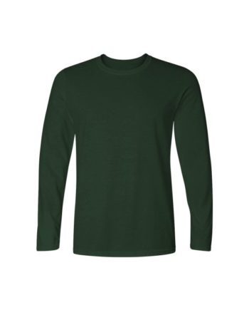 plain bottle green full sleeve t-shirt by adimanav.com for men and women
