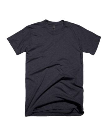plain charcoal melange half sleeve t-shirt by adimanav.com for men and women
