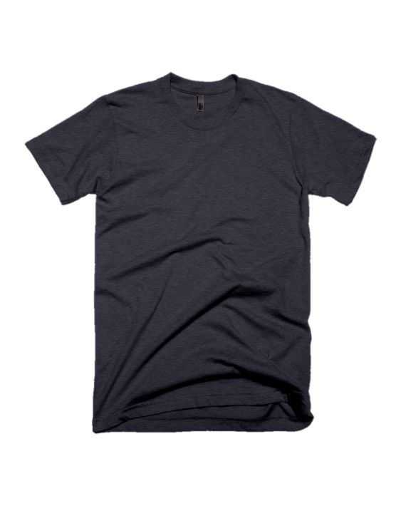 8b7a2db81991 plain charcoal melange half sleeve t-shirt by adimanav.com for men and women