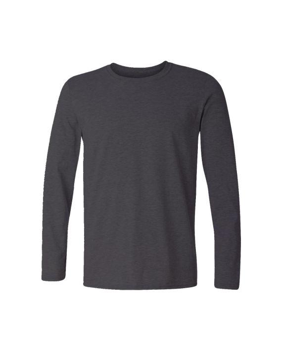 4f031816faed plain charcoal melange full sleeve t-shirt by adimanav.com for men and women