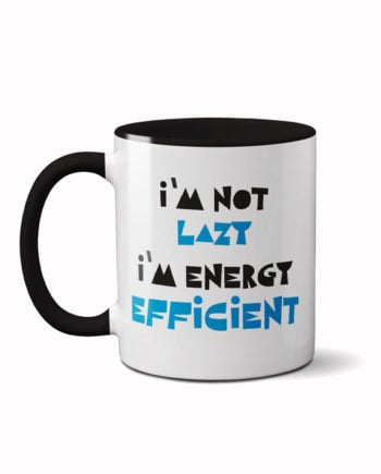 Energy efficient panda coffee mug by adimanav.com