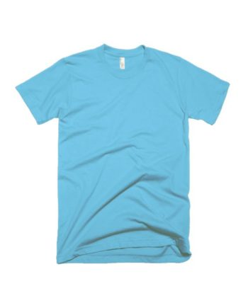 plain light blue half sleeve t-shirt by adimanav.com for men and women
