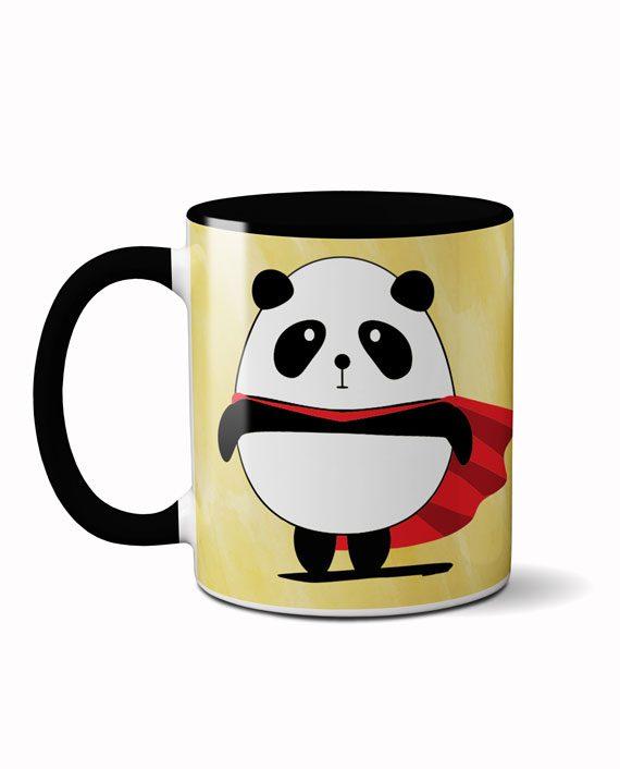 Super panda coffee mug by adimanav.com