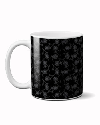 Cycle square coffee mug by adimanav.com