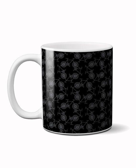 Cycle square coffee mug by adimanav.com