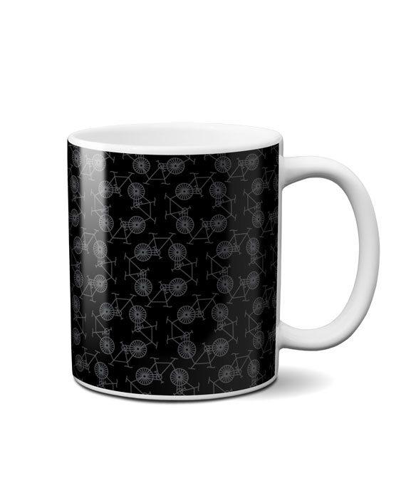 cycles black coffee mug by adimanav.com