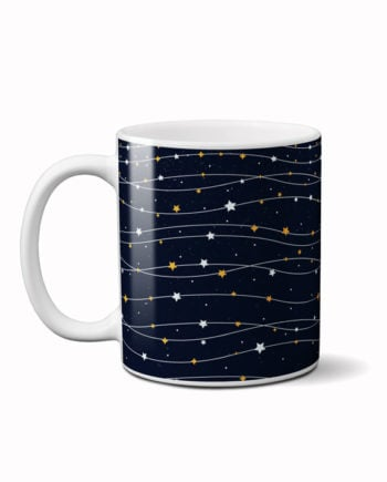 Twinkling stars coffee mug by adimanav.com