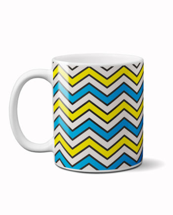 Zigzag coffee mug by adimanav.com