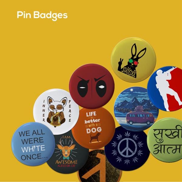 adimanav pin and magnet badges banner