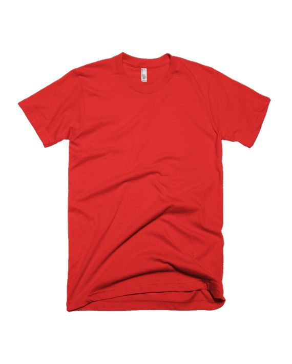 plain red half sleeve t-shirt by adimanav.com for men and women