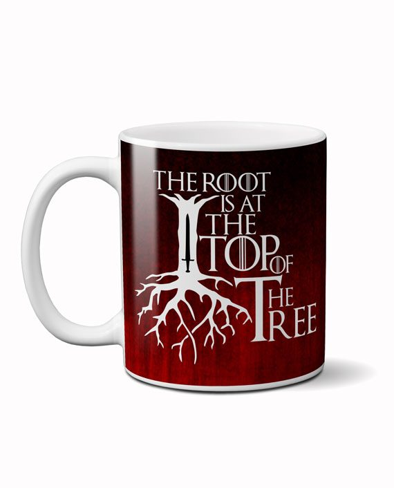 root tree geek coffee mug by adimanav.com