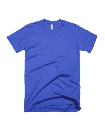 plain royal blue half sleeve t-shirt by adimanav.com for men and women