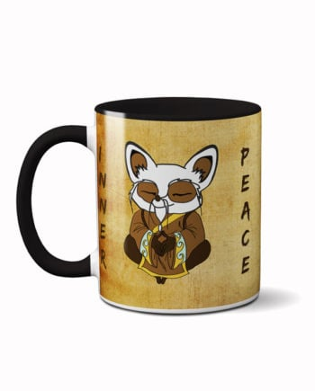 Shifu inner peace coffee mug by adimanav.com