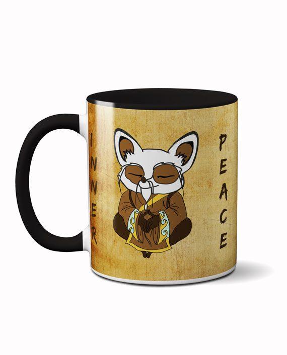 Shifu inner peace coffee mug by adimanav.com