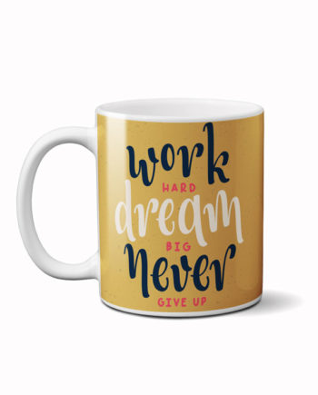 Hard work motivation coffee mug by adimanav.com