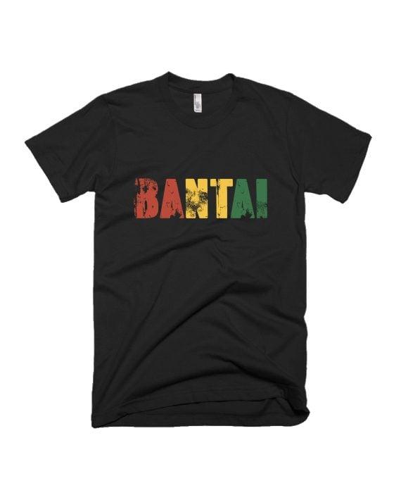 Bantai Black Graphic T-shirt by Adimanav.com