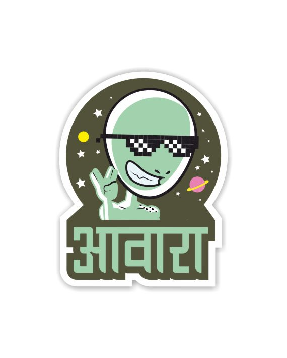 Aawara Laptop Computer Mobile Fridge Desk Bike Car Furniture Notebook Sticker by Adimanav.com