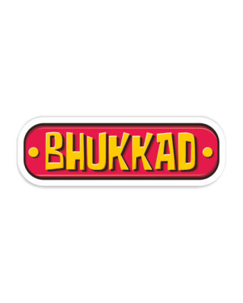 Bhukkad Laptop Computer Mobile Fridge Desk Bike Car Furniture Notebook Sticker by Adimanav.com