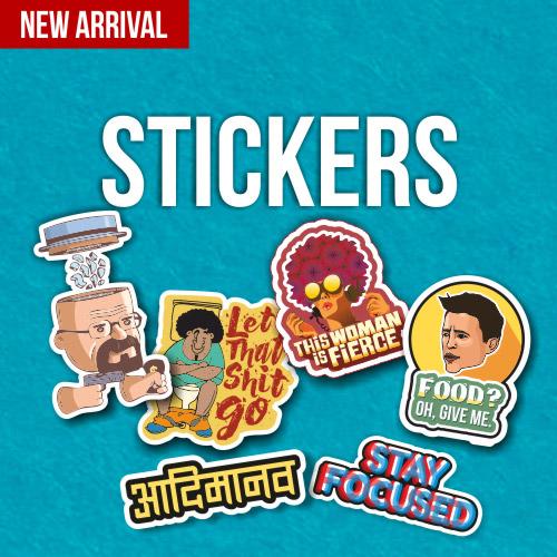 Matt Vinyl Stickers by Adimanav.com