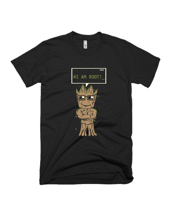 I AM Root programming coder T-shirt by Adimanav.com
