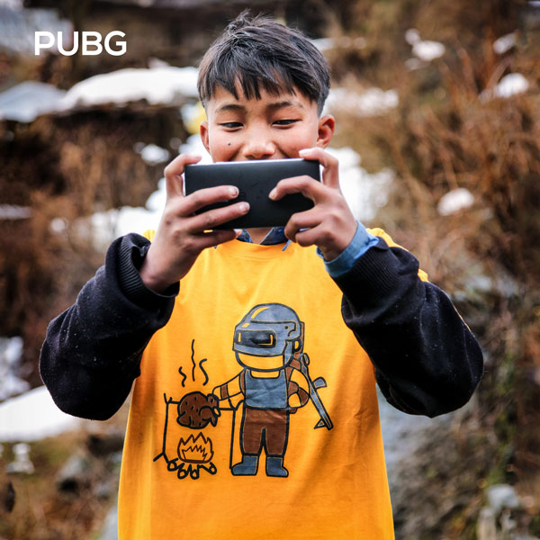 PUBG T-shirts by Adimanav