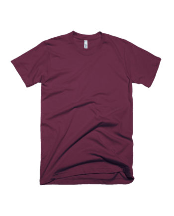 Maroon Green Plain T-shirt by Adimanav.com