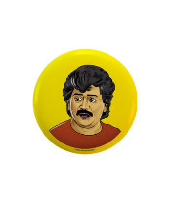 Laxya pin plus magnet badge by Adimanav.com
