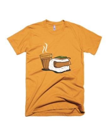 Chaha Vadapav T-shirt by Adimanav.com