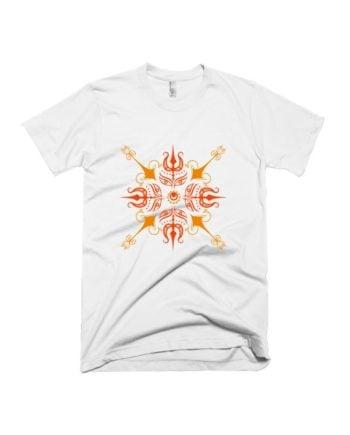 Trishul Mandala T-shirt by Adimanav.com