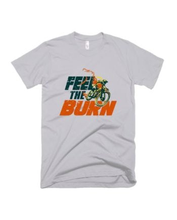 Feel The Burn HS Cement T-shirt by Adimanav.com