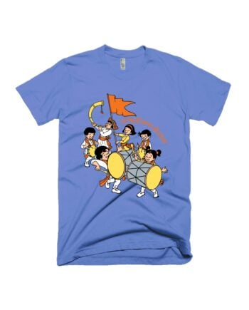 Chintoo Dhol Tasha Pathak T-shirt by Adimanav.com